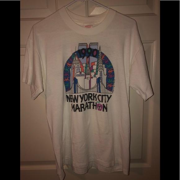🔥Vintage New York Marathon T Shirt
